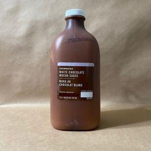Starbucks White Chocolate Mocha Sauce